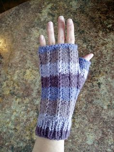 Malabrigo Hand Thingies Free Slipped stitches add dimension to these soft and comfy fingerless mitts.