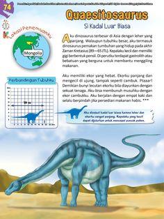 Buku Pintar Ensiklopedia Dinosaurus dan Binatang Purba Katabaca.com School Kids, Jurassic World, Ipa, Dinosaurs, Studying, Activities For Kids, Hobbies, Knowledge, Horse