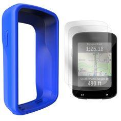 Silicone Case Cover Screen Protectors For Garmin Virb HD Elite Camera UE
