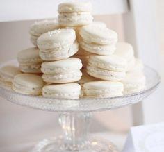 White Macarons LaDuree!