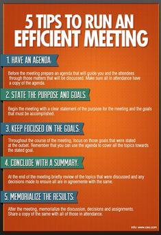Run an Efficient Meeting - Finance tips, saving money, budgeting planner School Leadership, Leadership Coaching, Leadership Development, Leadership Quotes, Leadership Qualities, Life Coaching, Teamwork Quotes, Leader Quotes, Educational Leadership