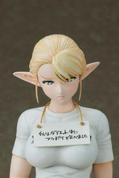 Neko Magic: Anime & Figure News - Elf-san wa Yaserarenai. – Elf 1/6 cold cast figure by Aizu Project