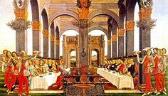 Sandro Botticelli The Wedding Banquet