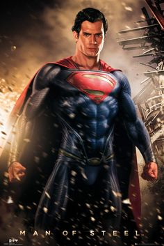 I am so happy with Henry Cavill as the new Superman. While I loved Christopher Reeve, Cavill is actually making me love Superman even more. This will always be my favorite male DC Comics character. Through all the hate, he's my man. Henry Cavill Superman, Batman Vs Superman, Spiderman, Superman Man Of Steel, Superman Quotes, Superman Stuff, Poster Marvel, Posters Batman, Marvel Heroes