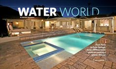 Published in many travel and design magazines.  Award winning pool featured here