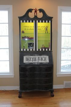 Beetlejuice Inspired Cabinet   Beetlejuice Furniture   Unique By  FourthDimensionCo On Etsy $2850.00