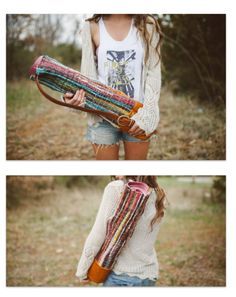 DIY yoga bag @Casey Freeman I am making you this!!!!