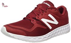 New Balance ML1980V1, Chaussures de Running Compétition homme, Rouge (Red/ White)