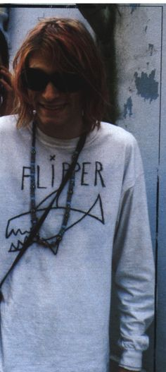Kurt Cobain. I really want the shirt he's wearing lol