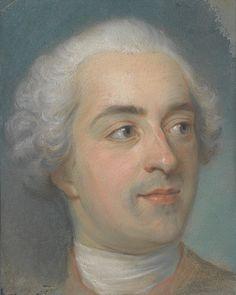 Prèparation for a Portrait of Louis XV (1710–1774) Maurice Quentin de La Tour (French, 1704–1788) 1745