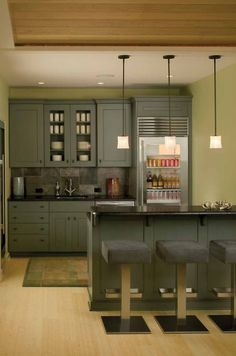 great for a rec room kitchen - Basement Kitchen Ideas
