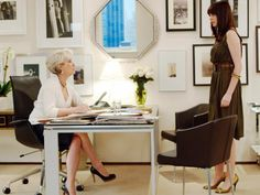 "Wintour is known for being an intimidating and demanding boss, a demeanor that has earned her the nickname ""Nuclear Wintour."" Miranda Priestley, Meryl Streep's somewhat terrifying character in ""The Devil Wears Prada,"" was rumored to be inspired by Wintour. The movie was based on a book by Lauren Weisberger, formerly an assistant to the Vogue editor-in-chief."