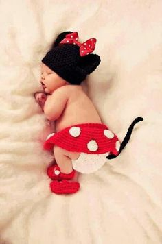 So cute baby girl Minnie So Cute Baby, Baby Kind, Baby Love, Cute Kids, Cute Babies, Baby Baby, Baby Girls, Baby Newborn, Baby Set