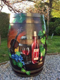 Das Bunte Weinfass: Uhudler Weinfass in Südburgenland