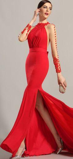 eDressit Red Evening Dress