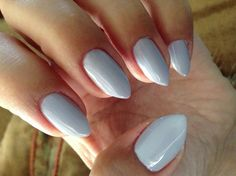 Almond Shape Nails Essie Stlucialilac