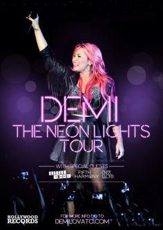 Demi Lovato | NEON LIGHTS!!