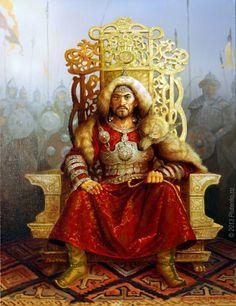 Genghis Khan (2013) by Stanislav Plutenko. The megalomaniac Khan wasn't a total…