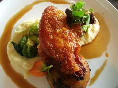 Another fall special: Oven-roasted chicken breast