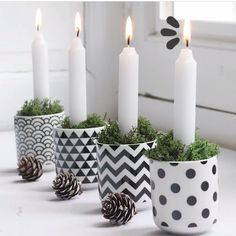 Our Christmas collections Advent Candles, Pillar Candles, German Christmas, Christmas 2019, Natal Natural, Santa Claus Is Coming To Town, Natural Christmas, Diy Home Crafts, Christmas Inspiration