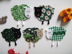 cute sheep magnets