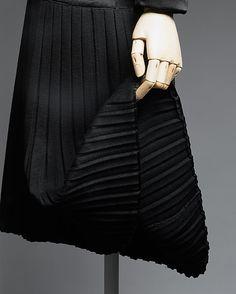 Ensemble Skirt Detail c.a. 1927,  Medium: silk, wool, metal