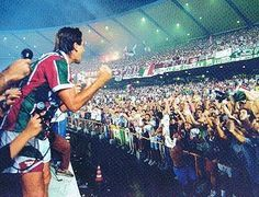 Renato Gaucho State of Rio de Janeiro Soccer Championship - 1995 final fla x Flu