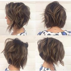 Perfect hair styles about bob hairstyles for thick hair. Fascinating hair stylist in accord with bob hairstyles for thick hair. White hair styles including www hairstyles for 2017 elegant haircuts trends 2017 2018 bob. Short Hairstyles For Women, Pretty Hairstyles, Hairstyle Ideas, Wavy Hairstyles, Hairstyles 2018, Hairdos, Popular Hairstyles, Latest Hairstyles, Medium Hair Styles