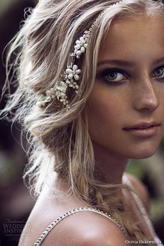 Olivia Headpieces — W Label Bridal Hair Accessories | Wedding Inspirasi. Hair Accessories // Aisle Perfect