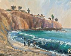 Marilyn Froggatt - Work Detail: Morro Beach, Laguna