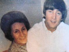 Aunt Mimi and John Lennon