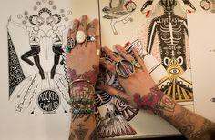 Tattooed creativity :) #tattoo #tattoos #ink