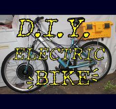 INSTRUCTABLES :: DIY Electric Bike! (by depotdevoid)