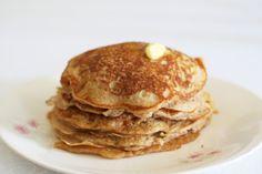 Cinnamon sugar buttermilk pancakes