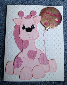 It's a girl card on Etsy, $5.00