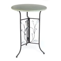 Blue Twig Accent Table