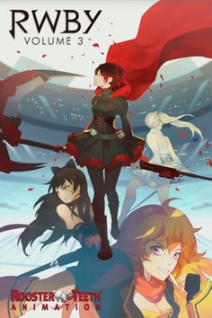 RWBY Volume 3 Official Poster