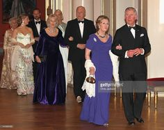 Camilla, Duchess of Cornwall and King Harald of Norway, Queen Sonja of Norway and Prince Charles, Prince of Wales attend an official dinner at the Norwegian Royal Palace on March 20, 2012 in Oslo, Norway. Prince Charles, Prince of Wales and Camilla, Duchess of Cornwall are on a Diamond Jubilee tour of Scandinavia that takes in Norway, Sweden and Denmark.