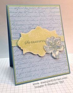 En Francais, Everything Eleanor, Apothecary Art, Stampin' Up!, stampwithbrian.com