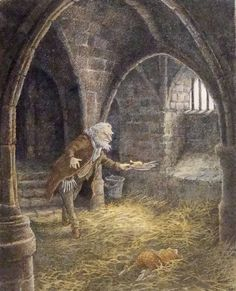 """O unhappy and forsaken Toad! From the book """"The Wind in the Willows"""" Illustrated Inga Moore"""