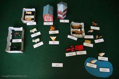 Inexpensive, Simple-to-Prepare Montessori Grammar Farm for Multiple Ages