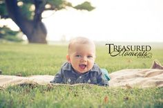 Outdoor, rural, baby pictures, 3 month old pictures, 4 month old pictures ~ Treasured Moments Studio, Ankeny, IA