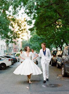 Destination to New York: A City Loft Wedding | Best Wedding Blog - Wedding Fashion & Inspiration | Grey Likes Weddings