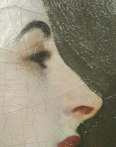 "J.S. Sargent's portrait ""Madame Gatreau"" detail - infamously known as ""Madame X"""