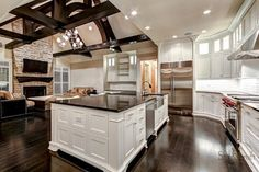 Stonecroft Homes European Estate - traditional - kitchen - louisville - by Stonecroft Homes