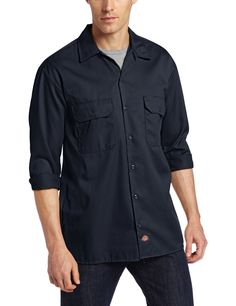 dickies long sleeve work shirt.