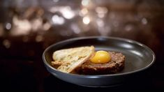 My Kitchen Rules Recipe - Dan & Gemma's Steak Tartare Mousse, My Kitchen Rules, Steak Tartare, Garlic Spinach, Griddle Pan, Entrees, Dan, Cooking, Breakfast