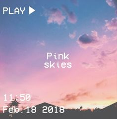 M O O N V E I N S 1 0 1 #vhs #aesthetic #sky #pink #blue #yellow #sunset #house