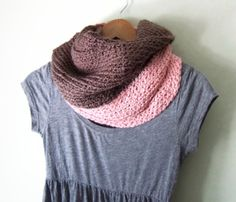 Oversized Organic Cotton Cowl Scarf by DottieQ