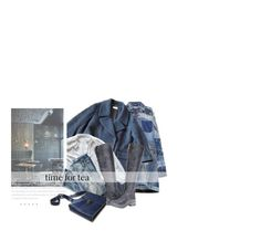 """""""Humeur Bleue D'Après-Midi / Afternoon Blue Mood"""" by halfmoonrun ❤ liked on Polyvore featuring Dolce&Gabbana, Dries Van Noten, J.Crew and Bed